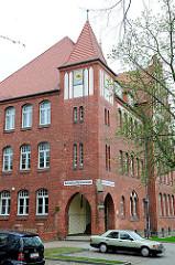 Lilienthal Gymnasium in Anklam; errichtet 1851.