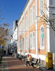 Historische Architektur in Bad Segeberg Am Markt / Kirchstrasse.