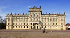 Barockschloss Ludwigslust -  Hauptresidenz der Herzöge von Mecklenburg - Vorpommern; fertiggestellt 1777.