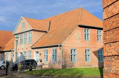 Ehemalige Mädchen-Bürgerschule in Uetersen; 1813 errichtet.