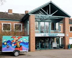 Verwaltungsgebäude / Einwohnermeldeamt der Samtgemeinde Bardowick.