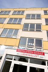 Altes Gebäude der Edith-Stein-Schule, 1853 - 2007, Ludwigslust.