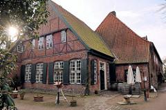 Südhaus des Klosters Uetersen - Haus der Priorin, erbaut 1664.