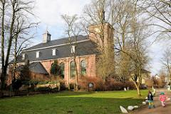 Klosterkirche Uetersen, Kreis Pinneberg - erbaut 1749; spätbarocker Backsteinbau.