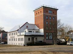 Industriearchitektur - Gewerbegebäude in Ludwigslust.