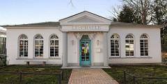 Historische Architektur Ostseebad Warnemünde Lesehalle - Kurbibliothek.