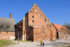 Wirtschaftsgebäude Kloster Bad Doberan - erbaut 1280, gotische Backsteinarchitektur.