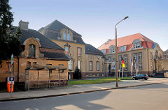 Historische Architektur in der Hansestadt Demmin - Verwaltungsgebäude / Kreishaus.