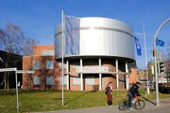 Gebäude Hochschule Wismar, Berich Seefahrt -  Maritimes Simulationszentrum Warnemünde.
