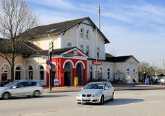 Bahnhof der Stadt Itzehoe - erbaut 1878.