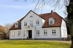 Historisches Gebäude im Klosterhof in Itzehoe.