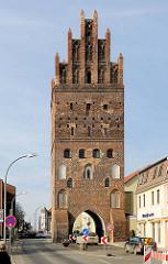 Luisentor / Stadttor der Hansestadt Demmin - Architektur aus dem 15. Jahrhundert.