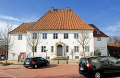 Prinzesshof in Itzehoe, ehem. Adelspalais - älteste Bauteile aus dem 16. Jahrhundert - Kreismuseum Kreis Steinburg.