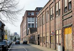 Backsteinarchitektur - Industriearchitektur in Elmshorn - ehem. Lagergebäude von Teppich Kibek.