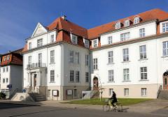 Historische Architektur in der Hansestadt Demmin - Verwaltungsgebäude.