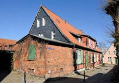 Gebäude vom Heiligengeisthospital / Heiligengeistkloster zu Stralsund.