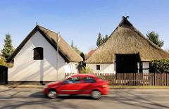 Historisches Bauernhaus in Elmenhorst / Lichtenhagen, Landkreis Rostock - Kleinbauernhof / Büdnerei.