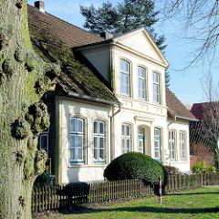 Wohnhaus im Klosterhof in Itzehoe.
