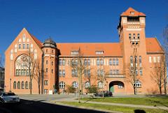 Hansagymnasium der Hansestadt Stralsund - erbaut 1914 als Höhere Mädchenschule.