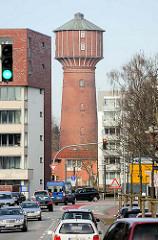 Wasserturm Elmshorn - erbaut 1902, Höhe 45m.