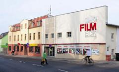 Gebäude Kino Film Eck in der Hansestadt Demmin.