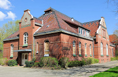 Offiziersheim der ehem. Eiderkaserne in Rendsburg - Backsteinarchitektur erbaut um 1900.