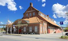 Nordmarkhalle / Bullentempel in Rendsburg - 1913 als städtische Viehhalle eröffnet, jetzt Veranstaltungszentrum.