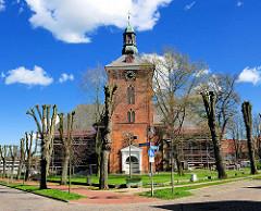 Christkirche in Rendsburg  - Einweihung 1700  als Garnisionskirche für die Offiziere und Soldaten der damals dänischen Garnison.