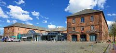Historisches Provianthaus in Rendsburg - jetzt Augenklinik.