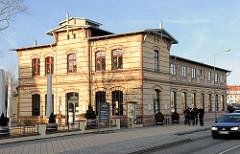 Gebäude Herzogliche Dampfwäscherei in Schwerin - jetzt Café.