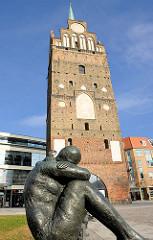 Kröpeliner Tor, Stadtbefestigung der Hansestadt Rostock, ursprünglich 1270 erbaut.
