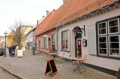Ehem. Wohnhäuser im Klosterhof Hansestadt Rostock.