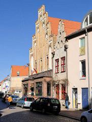 Historische Architektur - Beginenberg, Hansestadt Rostock.