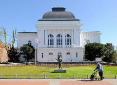 Stadttheater in Rendsburg - ehem. Stadthalle, erbaut 1901 - Architekt der Altonaer Albert Winkler.