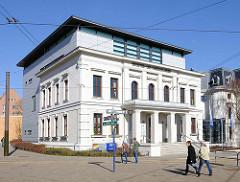Gebäude Industrie und Handelskammer Rostock.