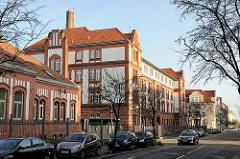 Historische Backsteinarchitketur in Schwerin, Werderkaserne