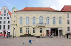 Barocksaal am Universitätsplatz in Rostock, erbaut 1750; Konzertsaal.