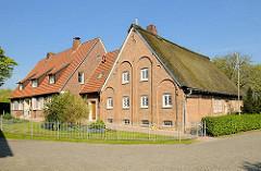 Pastorat und Diakoniegebäude in Haseldorf.