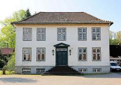 Historische Architektur -  Pastorat in Haseldorf.