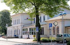 Historisches Bahnhofsgebäude  Kreisstadt Eutin - Gründerzeitarchitektur, erbaut 1866.
