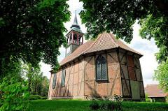 Johanniskirche in Plön - Fachwerkbau, 1685 von Herzog Adolf errichtet.