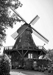 Eutiner Windmühle in Eutin - 1850 als Galerieholländer erbaut