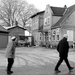 Historische Gewerbearchitektur - Handwerkerhaus mit Ziegelfassade in Plön.