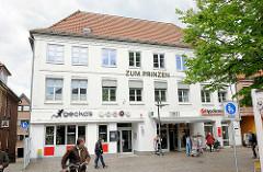 Geschäftshaus / Restaurant Zum Prinzen - Am Markt in Plön.