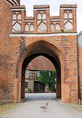 Historisches Stadttor / Elbtor der Hansestadt Werben.