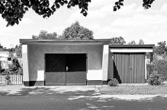 Garagenarchitektur - Garagen in Havelberg.