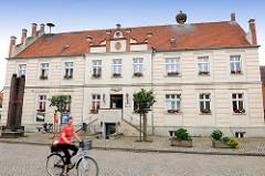 Rathaus am Markt in der Hansestadt Werben.