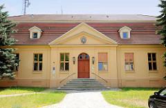 Dechanei / ehem. Sitz des Dekan in Havelberg, erbaut 1748 - ab 1819 Amtsgericht, jetzt Polizeiwache.