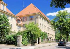 Schulgebäude des Pestalozzi-Gymnasiums in Havelberg - Schulgebäude erbaut 1912.