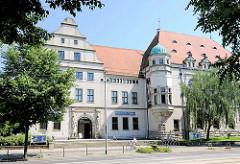 Kulturhistorisches Museum, Museum für Naturkunde in Magdeburg.
